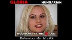 Download Gloria casting video files. Pierre Woodman undress Gloria, a Hungarian girl.