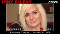 Check out this video of Leny Elleny having an audition. Erotic meeting between Pierre Woodman and Leny Elleny, a Czech girl.