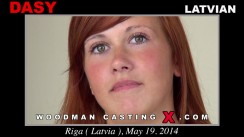 Download Dasy casting video files. Pierre Woodman undress Dasy, a Latvian girl.