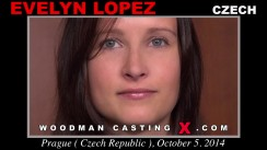 Watch our casting video of Evelyn Lopez. Erotic meeting between Pierre Woodman and Evelyn Lopez, a Czech girl.