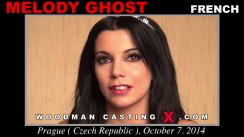Watch our casting video of Melody Ghost. Erotic meeting between Pierre Woodman and Melody Ghost, a French girl.