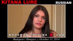 Watch our casting video of Kitana Lure. Pierre Woodman fuck Kitana Lure, Russian girl, in this video.