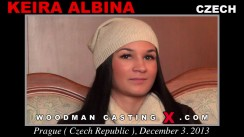 Watch Keira Albina first XXX video. A Czech girl, Keira Albina will have sex with Pierre Woodman.