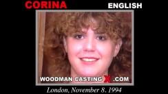 Watch Corina first XXX video. Pierre Woodman undress Corina, a English girl.