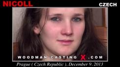 Download Nicoll casting video files. Pierre Woodman undress Nicoll, a Czech girl.