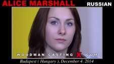 Sex Castings Alice marshall