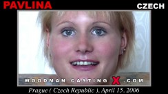 Download Pavlina casting video files. Pierre Woodman undress Pavlina, a Czech girl.