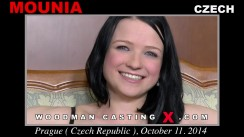 Download Mounia casting video files. Pierre Woodman undress Mounia, a Czech girl.