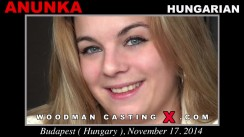 Watch our casting video of Anunka. Erotic meeting between Pierre Woodman and Anunka, a Hungarian girl.