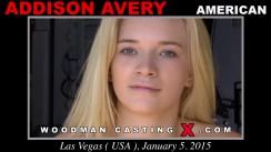 Watch Addison Avery first XXX video. Pierre Woodman undress Addison Avery, a American girl.