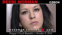 Download Deeni Norman casting video files. Pierre Woodman undress Deeni Norman, a Czech girl.