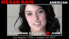 Look at Megan Rain getting her porn audition. Pierre Woodman fuck Megan Rain, American girl, in this video.