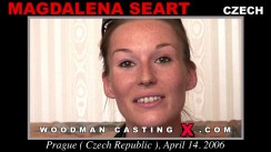 Look at Magdalena Seart getting her porn audition. Erotic meeting between Pierre Woodman and Magdalena Seart, a Czech girl.