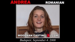 Access Andrea casting in streaming. Pierre Woodman undress Andrea, a Romanian girl.