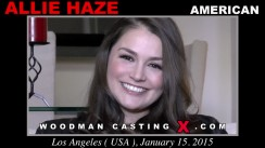 Check out this video of Allie Haze having an audition. Pierre Woodman fuck Allie Haze, American girl, in this video.