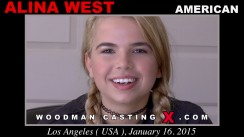 Watch Alina West first XXX video. A American girl, Alina West will have sex with Pierre Woodman.