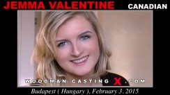 Download Jemma Valentine casting video files. A Canadian girl, Jemma Valentine will have sex with Pierre Woodman.