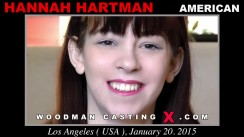 Watch our casting video of Hannah Hartman. Erotic meeting between Pierre Woodman and Hannah Hartman, a American girl.