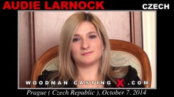 Watch our casting video of Audie Larnock. Erotic meeting between Pierre Woodman and Audie Larnock, a Czech girl.