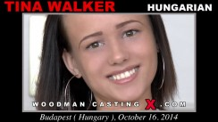 Access Tina Walker casting in streaming. A Hungarian girl, Tina Walker will have sex with Pierre Woodman.