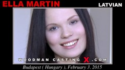 Look at Ella Martin getting her porn audition. Erotic meeting between Pierre Woodman and Ella Martin, a Latvian girl.