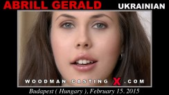 Access Abrill Gerald casting in streaming. A Ukrainian girl, Abrill Gerald will have sex with Pierre Woodman.