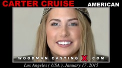 Watch Carter Cruise first XXX video. Pierre Woodman undress Carter Cruise, a American girl.