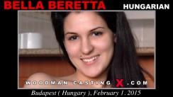 Look at Bella Beretta getting her porn audition. Erotic meeting between Pierre Woodman and Bella Beretta, a Hungarian girl.