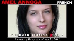 Watch Amel Annoga first XXX video. Pierre Woodman undress Amel Annoga, a French girl.