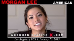Access Morgan Lee casting in streaming. A American girl, Morgan Lee will have sex with Pierre Woodman.