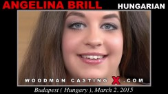 Check out this video of Angelina Brill having an audition. Erotic meeting between Pierre Woodman and Angelina Brill, a Hungarian girl.