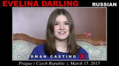 Look at Evelina Darling getting her porn audition. Erotic meeting between Pierre Woodman and Evelina Darling, a Russian girl.