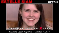 Watch our casting video of Estelle Siam. Pierre Woodman fuck Estelle Siam, Czech girl, in this video.