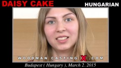 Download Daisy Cake casting video files. Pierre Woodman undress Daisy Cake, a Hungarian girl.