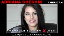 Download Adriana Chechik casting video files. A American girl, Adriana Chechik will have sex with Pierre Woodman.