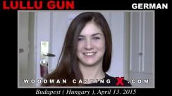 Watch Lullu Gun first XXX video. Pierre Woodman undress Lullu Gun, a German girl.
