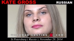 Look at Kate Gross getting her porn audition. Erotic meeting between Pierre Woodman and Kate Gross, a Russian girl.