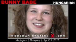 Access Bunny Babe casting in streaming. Pierre Woodman undress Bunny Babe, a Hungarian girl.