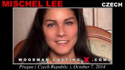Check out this video of Mischel Lee having an audition. Erotic meeting between Pierre Woodman and Mischel Lee, a Czech girl.