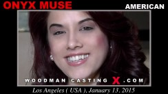 Check out this video of Onyx Muse having an audition. Erotic meeting between Pierre Woodman and Onyx Muse, a American girl.