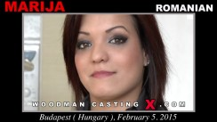Watch Marija first XXX video. Pierre Woodman undress Marija, a Romanian girl.
