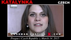 Look at Katalynka getting her porn audition. Erotic meeting between Pierre Woodman and Katalynka, a Czech girl.