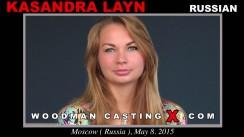 Download Kasandra Layn casting video files. Pierre Woodman undress Kasandra Layn, a Russian girl.
