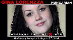 Check out this video of Gina Lorenzza having an audition. Erotic meeting between Pierre Woodman and Gina Lorenzza, a Hungarian girl.