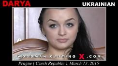 Watch our casting video of Darya. Erotic meeting between Pierre Woodman and Darya, a  girl.