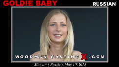 Watch our casting video of Goldie Baby. Erotic meeting between Pierre Woodman and Goldie Baby, a Russian girl.