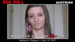 Download Ria Hill casting video files. Pierre Woodman undress Ria Hill, a English girl.
