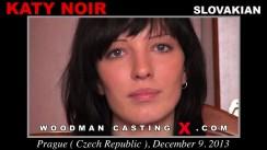 Watch our casting video of Katy Noir. Erotic meeting between Pierre Woodman and Katy Noir, a Slovak girl.