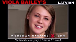 Watch our casting video of Viola Bailey's. Pierre Woodman fuck Viola Bailey's, Latvian girl, in this video.