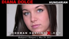 Watch our casting video of Diana Dolce. Erotic meeting between Pierre Woodman and Diana Dolce, a Hungarian girl.